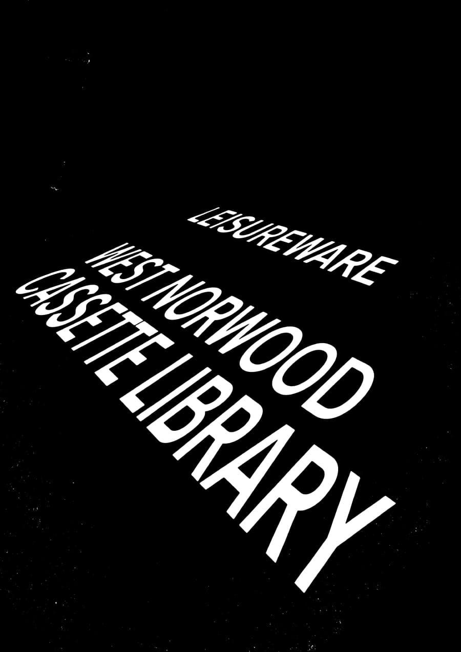Poster: Roads 10 w/ West Norwood Cassette Library & Leisureware