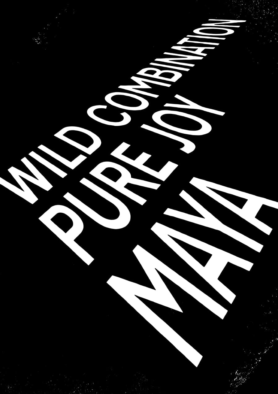 Poster: Roads 14 w/ Wild Combination: Maya & Pure Joy